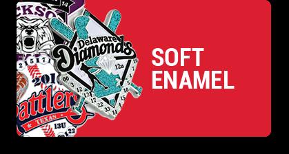 Soft Enamel Baseball Trading Pins